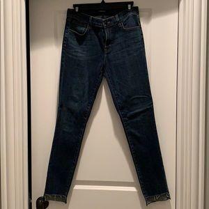 J Brand step hem jean size 28